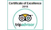 Certificate of excellence 2018